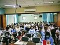 Department of Media and Communications, Royal University of Phnom Penh - Wikipedia Workshop 25 May 2018.jpg
