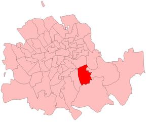 Deptford (UK Parliament constituency) - Deptford in London 1885-1918