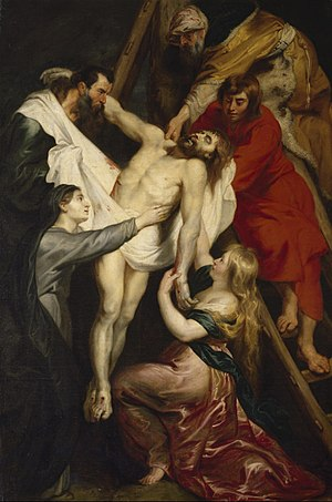 The Descent from the Cross (Rubens) - Image: Descente de croix rubens