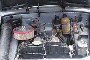 Lancia V4 engine - Lancia V4 in a third series Appia Berlina