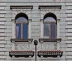 Detail of a building at Československých legií 16, Ostrava, Czech Republic 01.jpg