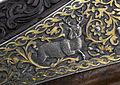 Detalj låsdekor slaglåsdubbelstudsare - Livrustkammaren - 65344.jpg