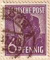 Deutsche Post 6 pfennig - 1947.jpg