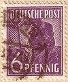 Deutsche Post 6 pfennig - 1947.jpg
