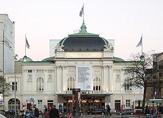 Deutsches Schauspielhaus - Deutsches Schauspielhaus front view