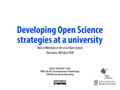 Developing Open Science strategies at a university 20180416.pdf