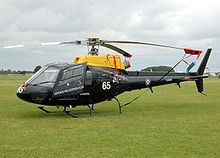 Eurocopter Squirrel HT1 of the Defence Helicopter Flying School, now replaced by Juno HT1.