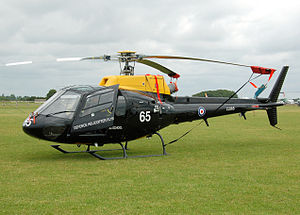 705 Naval Air Squadron - AS.350BB Squirrel HT1 of the (UK) Defence Helicopter Flying School