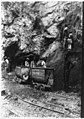 Diamond miners at the bottom of a great shaft at the Wesselton Mines, Kimberley, South Africa LCCN92521094.jpg