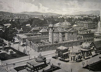 1888 Barcelona Universal Exposition - Pavilions in the Parc de la Ciutadella