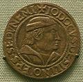 Dicken d'argento di iodicus von silinen, vescovo di sitten, 1482-96.JPG