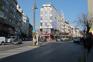 Zeytinburnu - Dikilitaş neighborhood of Zeytinburnu