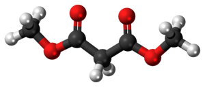 Dimethyl malonate - Image: Dimethyl malonate 3D ball