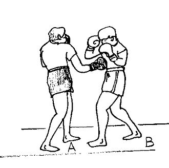 Short straight-punch - Image: Direct court 2