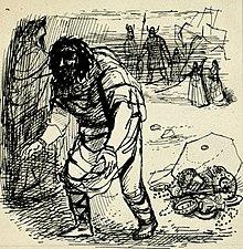 Disegno per copertina di livret, disegno di Peter Hoffer per L'oro del Reno (sd) - Archivio Storico Ricordi ICON012398.jpg