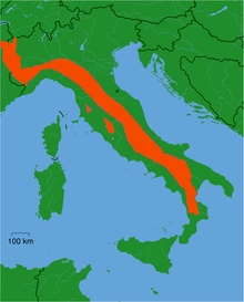 Distribution Canis Lupus Italicus.png