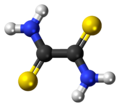 Dithiooxamide 3D ball.png