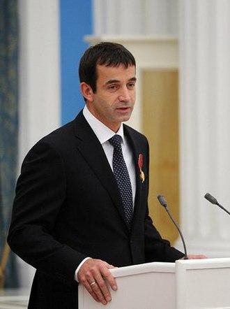 Dmitry Pevtsov - Dmitry Pevtsov at award ceremony, October 29, 2013,  Kremlin