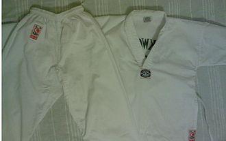 Taekwondo - A WT-style dobok