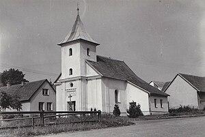 Dobrá Voda (Žďár nad Sázavou District) - Image: Dobrá Voda, kaple