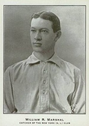 Doc Marshall (catcher) - Image: Doc Marshall