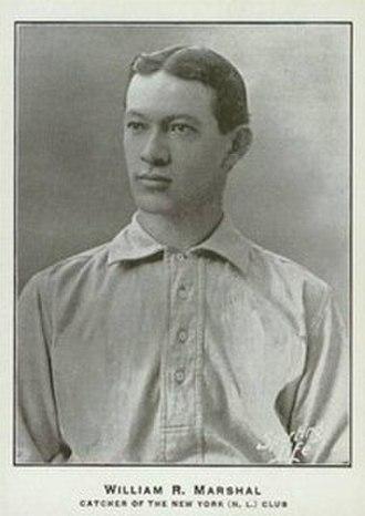 Doc Marshall (catcher) - Image: Doc Marshall