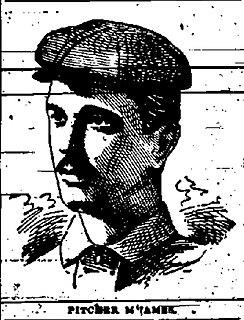 Doc McJames American baseball player
