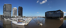 view of anz head office in docklands melbourne anz melbourne office
