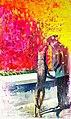 Dog, oil on canvas, 200cm x 125cm, 2019.jpg