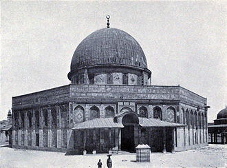 Greek contributions to Islamic world - The Dome of the Rock in Jerusalem built in 691 AD
