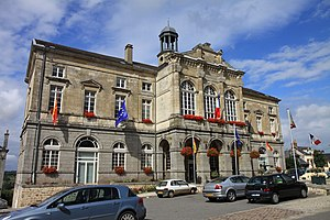 Domfront, Orne - The city hall