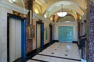 Dominion Building - Image: Dominion Building lobby 2018