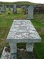 Donald Robertson's Gravestone, Esha Ness, Shetland - geograph.org.uk - 1450765.jpg