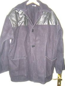 What Is Leather Made Of >> A donkey jacket with PVC panels