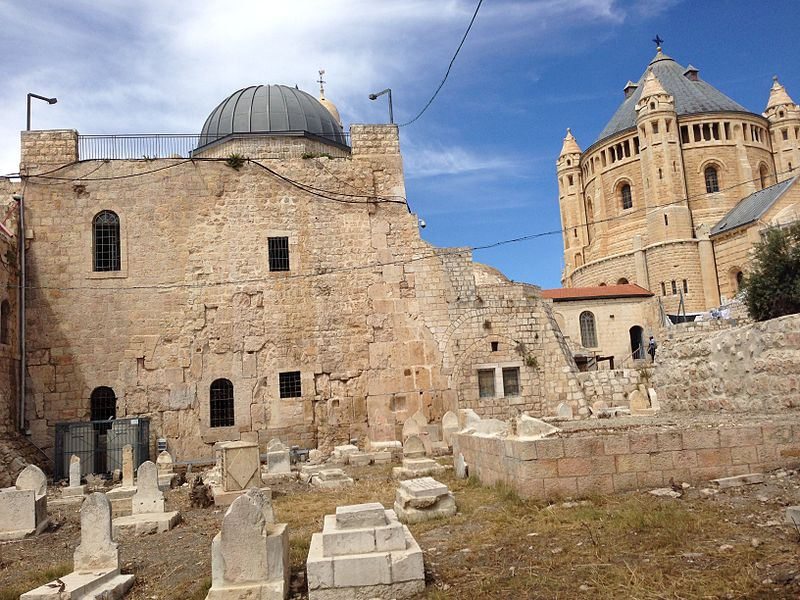 Dormition Abbey Jeruzalem (Israël 2015) (16889147140).jpg