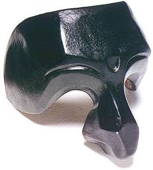 Il Dottore - Traditional one-third mask of Il Dottore.