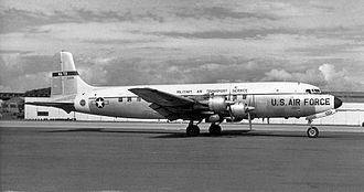 38th Air Transport Squadron - Douglas C-118 as flown by the squadron