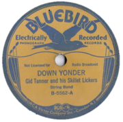 Gid Tanner's Skillet Lickers - Down Yonder