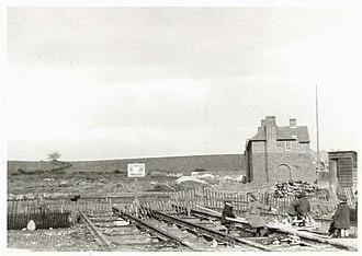 Downham Estate - Downham Estate, under construction in 1926