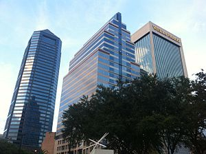 SunTrust Tower - Image: Downtown Jacksonville Northbank