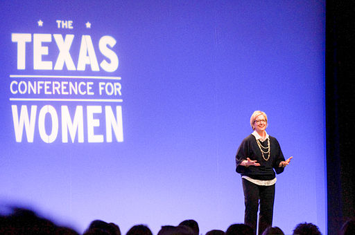 Dr. Brene Brown at Texas Conference for Women