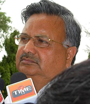 Raman Singh - Image: Dr Raman Singh at Press Club Raipur Mood 2