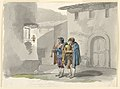 "Drawing, ""Pifferari,"" Two Pipers from the Abruzzi in Rome, 1807–08 (CH 18329655).jpg"
