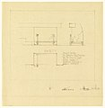 Drawing, Andirons, Entrance Hall Fireplace, Henry J. Allen Residence, Wichita, Kansas, 1917 (CH 18800285).jpg