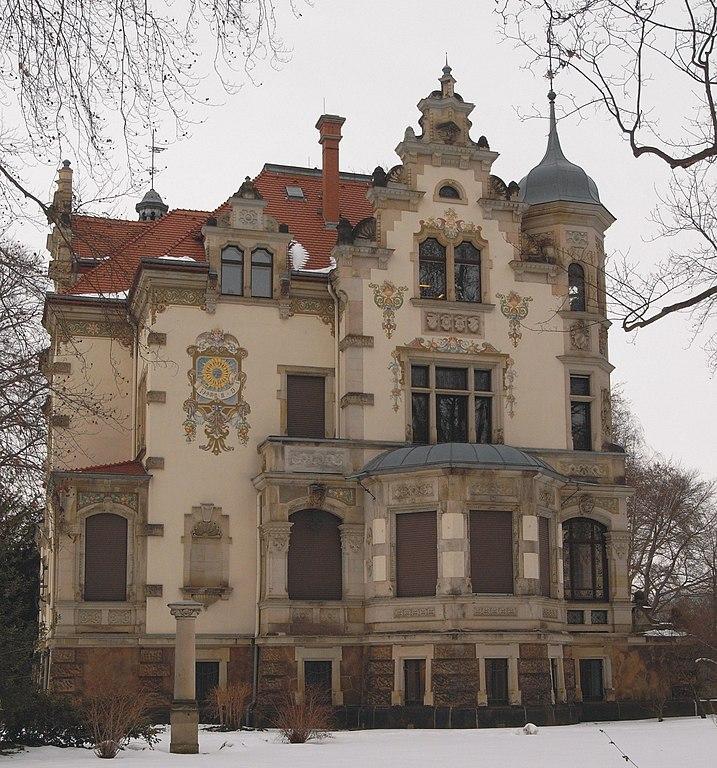 Villa Salzburg Dresden Wohndesign