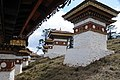 Druk Wangyal - 108 Chortens at Dochula on Thimphu-Punakha Highway - Bhutan - panoramio (4).jpg