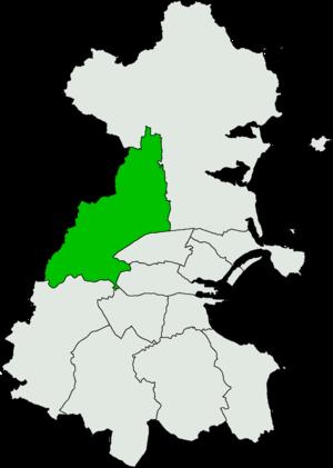 Dublin West (Dáil Éireann constituency) - Image: Dublin West Dáil Éireann constituency