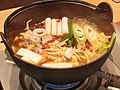 Dubu jjigae, at Washoku-Sato (2014.04.19).jpg