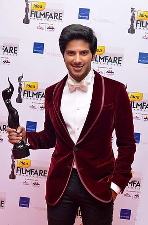 Dulquer Salmaan - Dulquer Salmaan at 60th South Filmfare Awards 2013