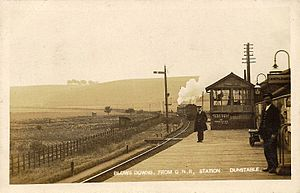 Dunstable Town railway station - Image: Dunstable Town railway station